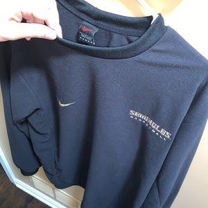 Nike FSU Florida state crewneck TEAM 🔥 L